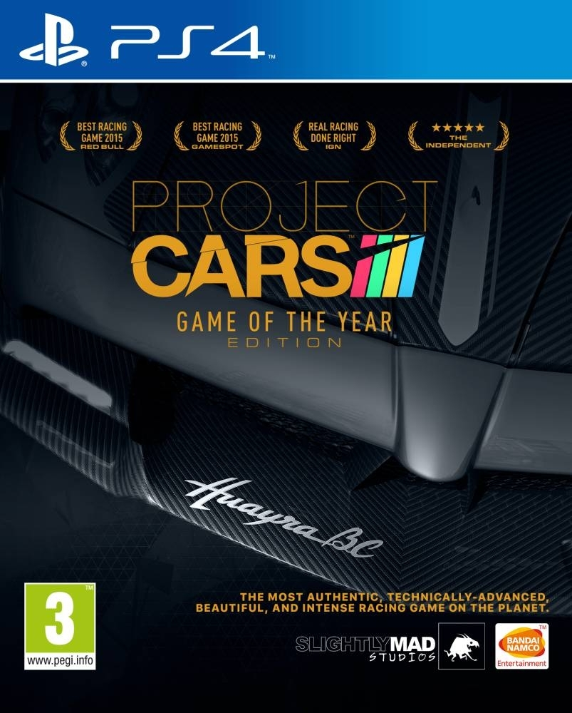 Project CARS Game of the Year (PS4)